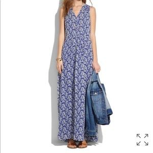 Madewell Silk Maxi Dress Daisy Trumble 12